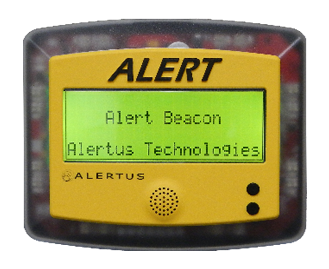 Picture of an ALERT Beacn